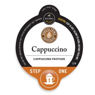 Barista Prima Coffeehouse Cappuccino, Vue Cup Portion Pack for Keurig Vue Brewing Systems