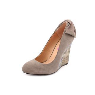 Betsey Johnson Women's 'Chhance' Regular Suede Dress Shoes