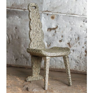 Sahar Mango Wood Accent Chair