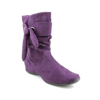 Easy Street Women's 'Appeal' Faux Suede Boots (Size 7.5 )