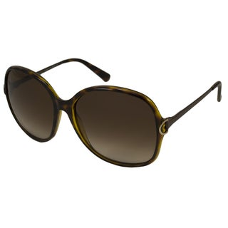 Gucci Women's GG3129 Rectangular Sunglasses