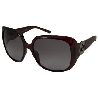 Gucci Women's GG3163 Rectangular Sunglasses