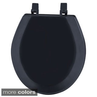 Fantasia Standard 17-inch Wood Toilet Seat