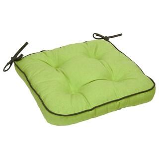 Green Organic Cotton Seat Cushion (Set of 2)