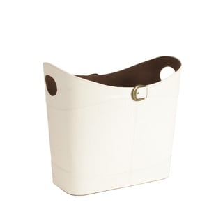 Wald Imports Faux Leather Buckle Tote