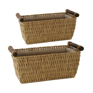 Wald Imports Double 6-inch Rope Planter (Set of 21)
