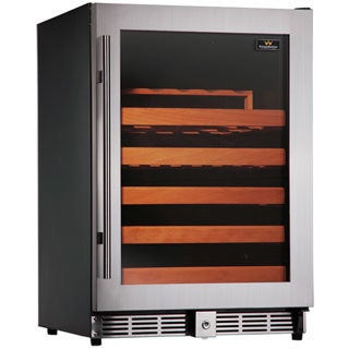 KingsBottle 50-bottle Single Zone Compressor Wine Cooler
