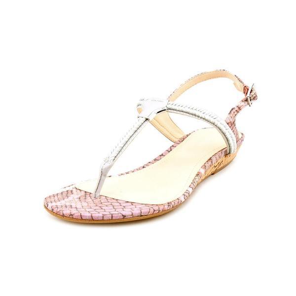 Calvin Klein Women's 'Braelyn Classic' Animal Print Sandals (Size 9 )