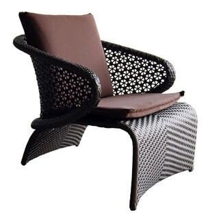 Exotica Brown Wicker Single Sofa