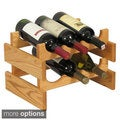 Stackable 6-bottle Wood Dakota Wine Rack