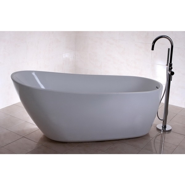 Fusion Freestanding 68 Inch Acrylic Bathtub 16467058 Shoppi