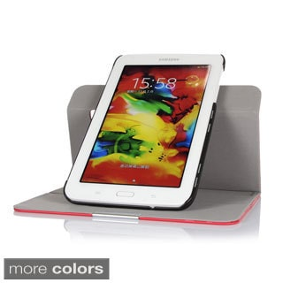 GearIT 360 Spinner Folio Rotating Case Cover for Samsung Galaxy Tab 3 Lite 7.0 SM-T110