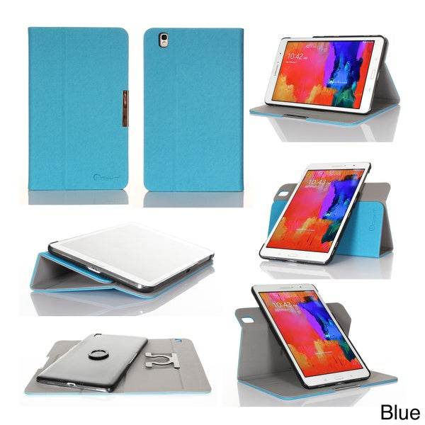 GearIT 360 Spinner Folio Rotating Case Cover for Samsung Galaxy Tab Pro 8.4 SM-T320
