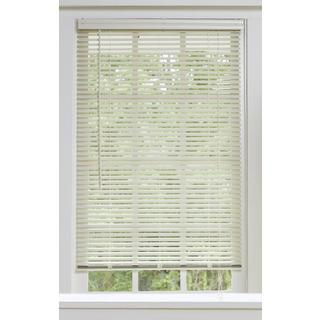 Aluminum Alabaster Window Blinds with 1-inch Slats