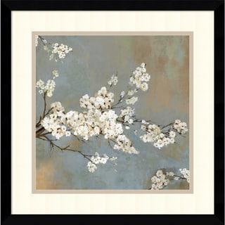 Asia Jensen 'Ode to Spring II' Framed Art Print 17 x 17-inch