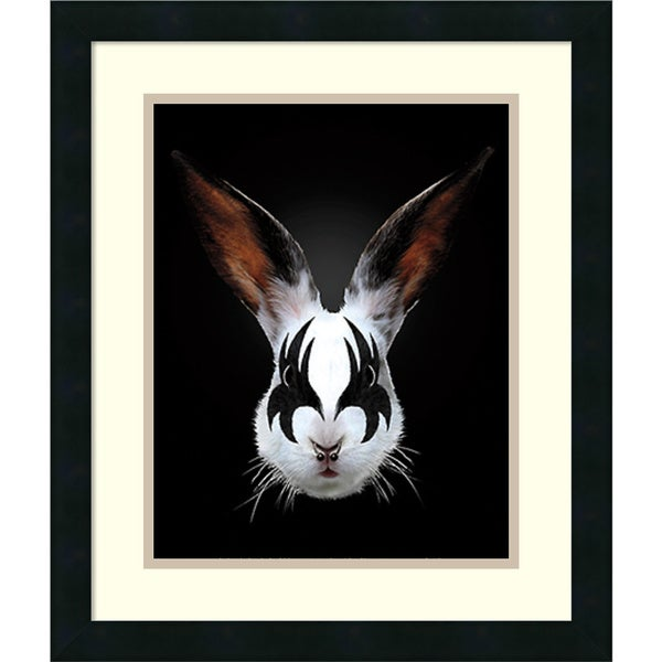 Robert Farkas 'Rabbit Rocks' Framed Art Print 17 x 20-inch