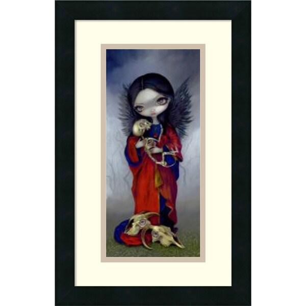 Jasmine Becket-Griffith 'I Vampiri Angelo Della Morte' Framed Art Print 12 x 20-inch