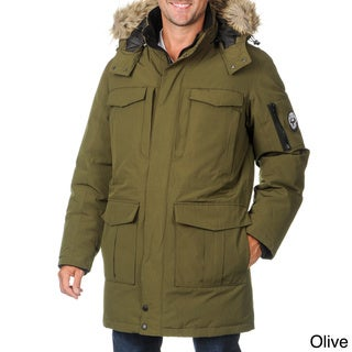 Arctic Expedition Men's Down-filled Coat