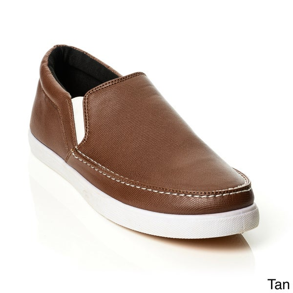 Solo Men's Textured Slip-on Casual Shoes