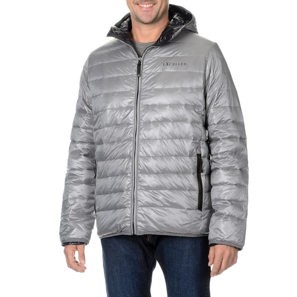 EXcelled Men's Packable Down-filled Puffer Jacket