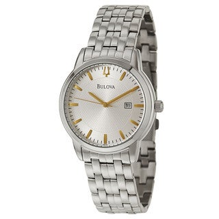 Bulova Men's 96B196 'Dress' Stainless Steel Japanese Quartz Watch