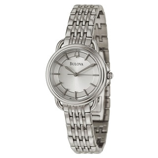 Bulova Women's 96L171 Stainless Steel Japanese Quartz Watch