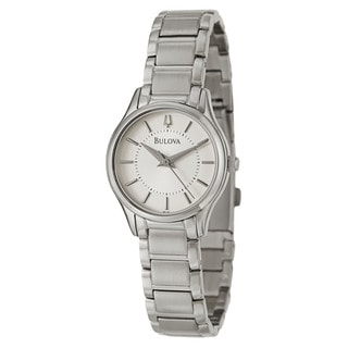 Bulova Women's 96L183 Stainless Steel Japanese Quartz Watch