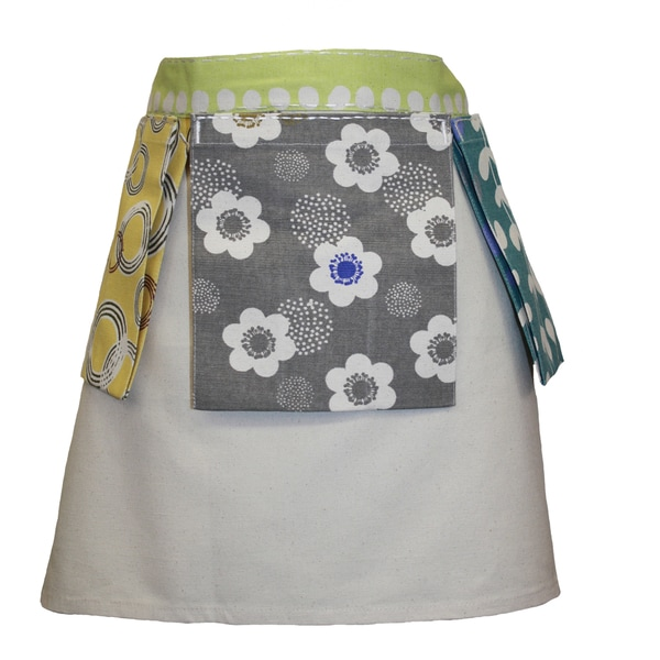 Adult Half Apron With 3 Side Pockets