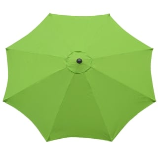 Market 9-foot Outdoor Umbrella with Steel Pole