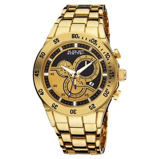 Akribos XXIV Men's Swiss Quartz Chronograph Bracelet Watch