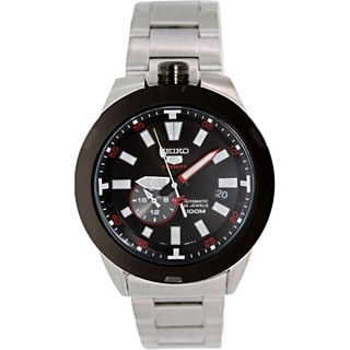 Seiko Men's 5 Automatic SSA169K Stainless Steel Automatic Watch