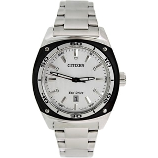 Citizen Men's Eco-Drive AW1041-53B Stainless Steel Eco-Drive Watch