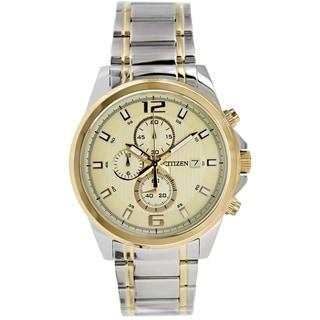 Citizen Men's AN3554-54P Two-tone Stainless Steel Quartz Watch