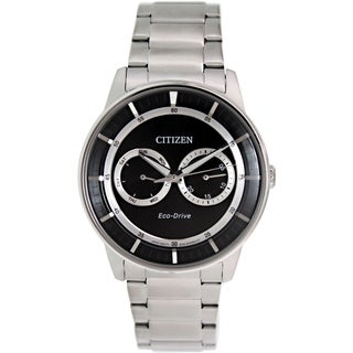 Citizen Men's Eco-Drive BU4000-50E Stainless Steel Eco-Drive Watch