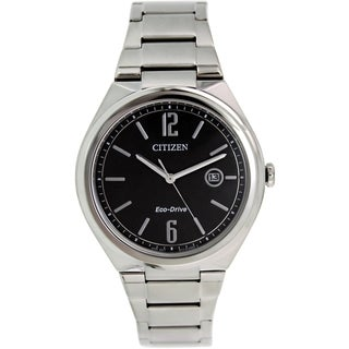 Citizen Men's Eco-Drive AW1370-51E Stainless Steel Eco-Drive Watch
