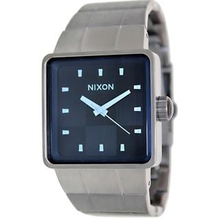Nixon Men's Quatro A0131427 Grey Stainless Steel Quartz Watch