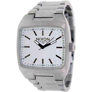 Nixon Men's Manual A2441166 Stainless Steel Quartz Watch