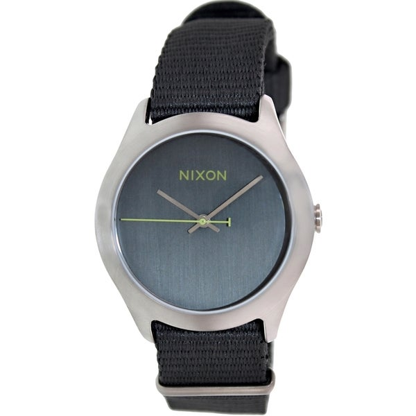 Nixon Men's Mod A348147 Grey Cloth Watch