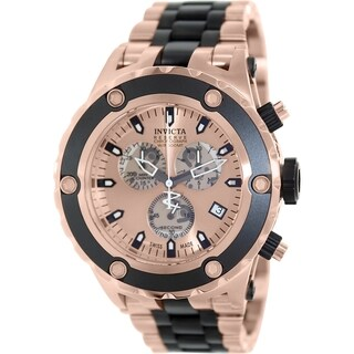 Invicta Men's Subaqua 80513 Two-tone Stainless Steel Swiss Chronograph Watch