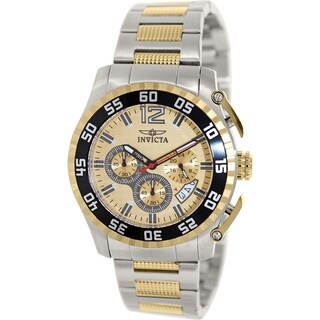 Invicta Men's Speciality 16651 Two-tone Stainless Steel Quartz Watch