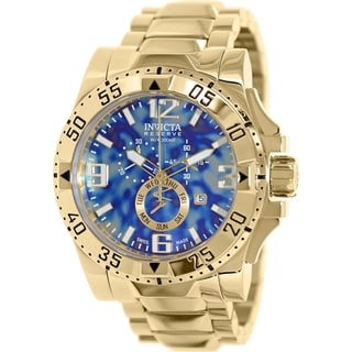 Invicta Men's Excursion 15977 Goldtone Stainless Steel Swiss Chronograph Watch