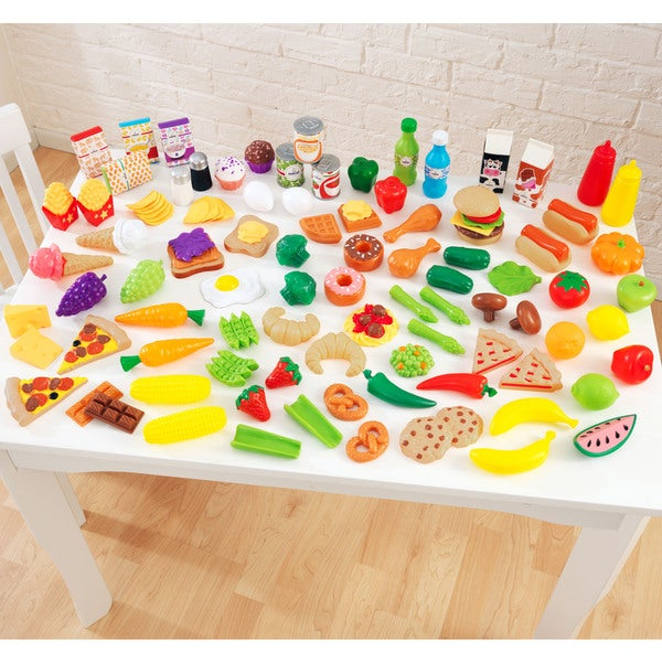 KidKraft 105-piece Tasty Treats Play Food Set