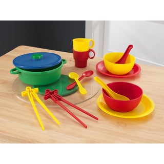 KidKraft 21-piece Asian Cuisine Cookware Set