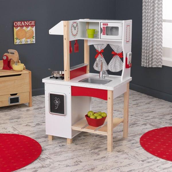 KidKraft Modern Island Kitchen - 16467940 - Overstock.com Shopping ...