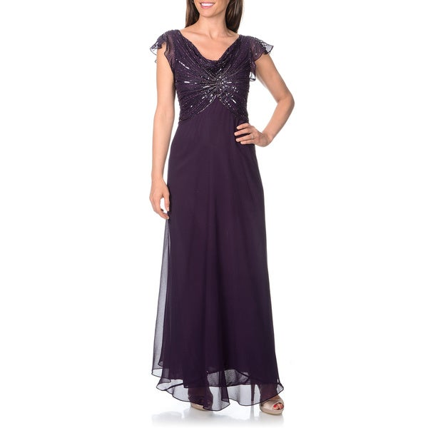plus length v neck maxi dresses