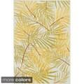 Indoor/ Outdoor Palm Rug (3'11 x 5'10)