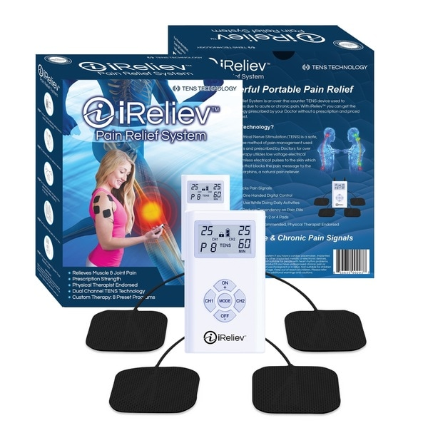 iReliev TENS Unit Muscle and Joint Pain Management System