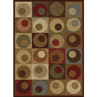 Flora 8940 Multi Contemporary Area Rug (7'10 x 10'3)
