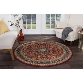 Soho 4780 Traditional Area Rug (5'3 Round)