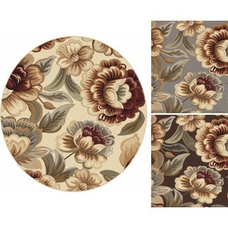 Impressions 7842 Transitional Area Rug (5'3 Round)